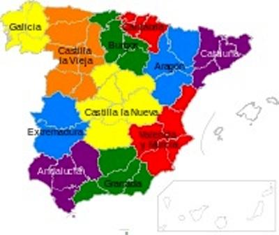 Evoluci n en el tiempo de los l mites territoriales de la for Donde esta la comunidad de madrid