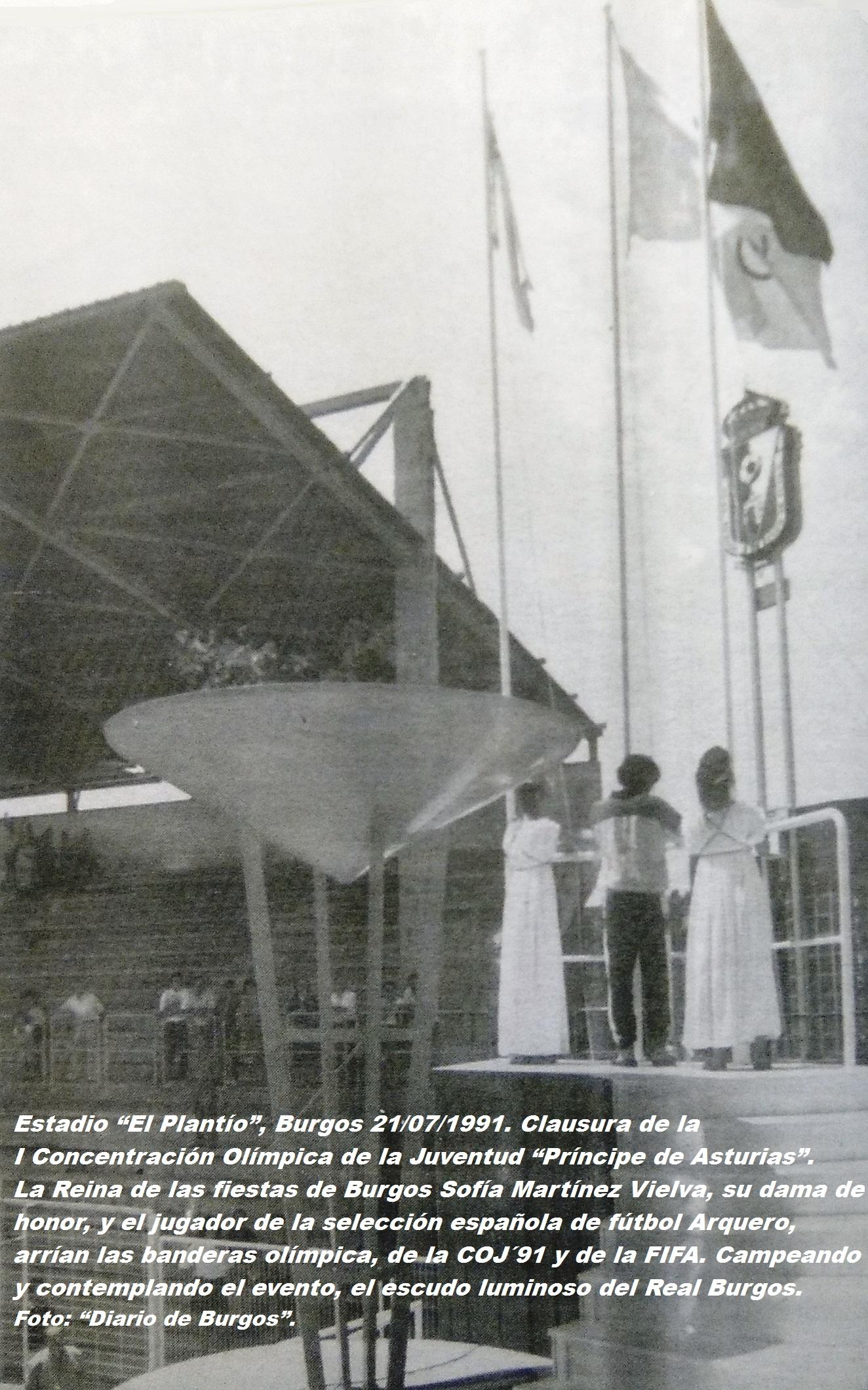 COJ´91.-Clausura.-El-Plantío-Burgos-21-07-1991
